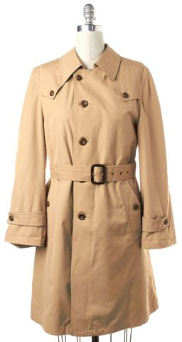 DIOR Beige Belted Trench Coat