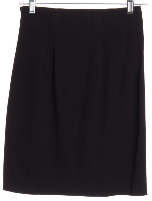 DIOR Black Stretch Knit Skirt