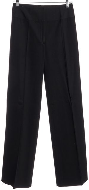 DIOR Black High Waist Dress Pants