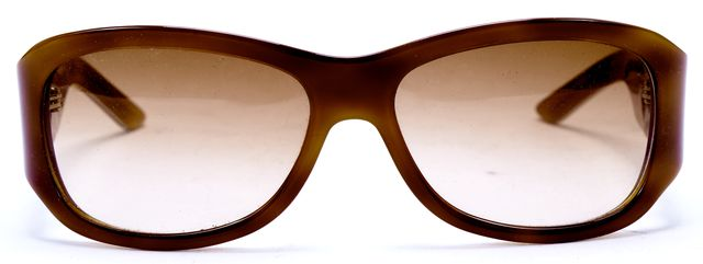 DIOR Orange Brown Acetate Gradient Lens LovinglyDior2 Sunglasses