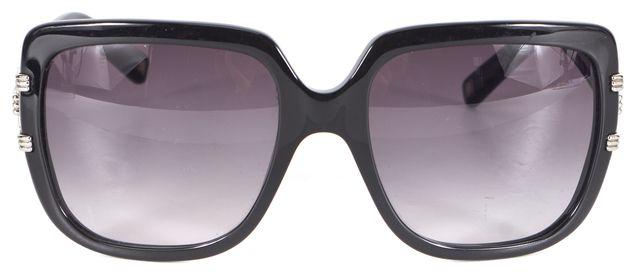 DIOR Black Acetate Gradient Lens Graphix2 Rectangular Sunglasses