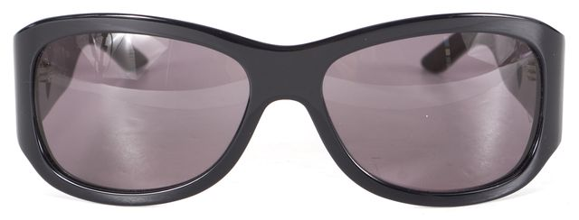 DIOR Black Acetate Lovingly Rectangular Sunglasses w/ Case