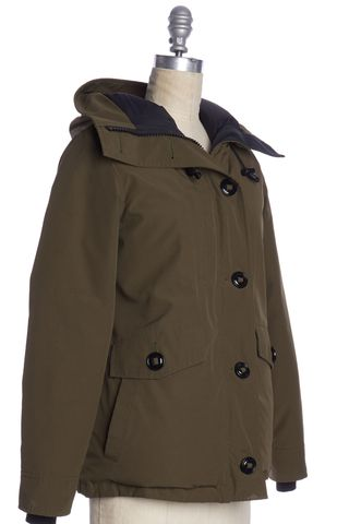 CANADA GOOSE Olive Green Puffer Coat Size XS
