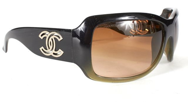 CHANEL Black Gradient Sunglasses