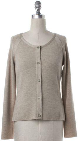 CHANEL Beige Cashmere Cashmere Silk Twinset
