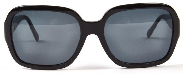 CHANEL Black Square Acetate Sunglasses