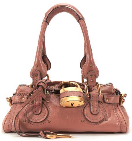 CHLOÉ CHLOÉ Brown Leather Small Paddington Shoulder Handbag