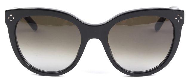 CHLOÉ CHLOÉ Black Acetate Frame Round Gradient Lens Sunglasses