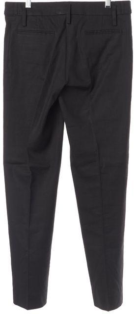 CHLOÉ Black Pleated Trouser Dress Pants