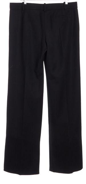 CHLOÉ Black Wool Wide Leg Trousers Pants