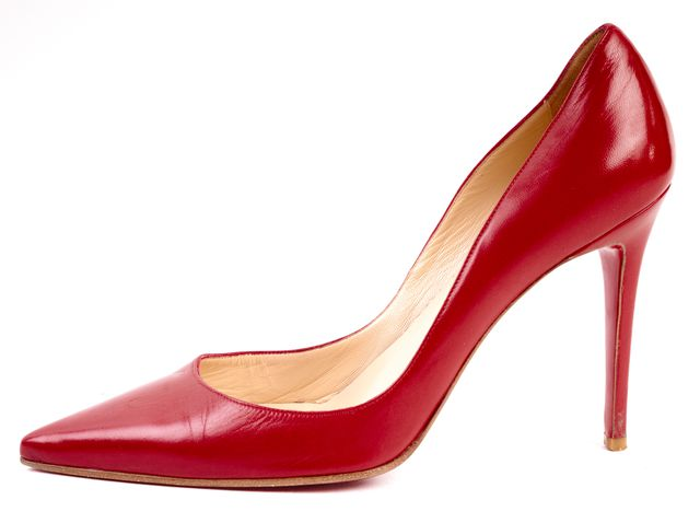 CHRISTIAN LOUBOUTIN Red Leather So Kate 120mm Pumps