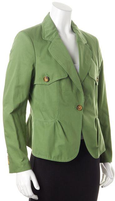 CH CAROLINA HERRERA Lime Green Blazer
