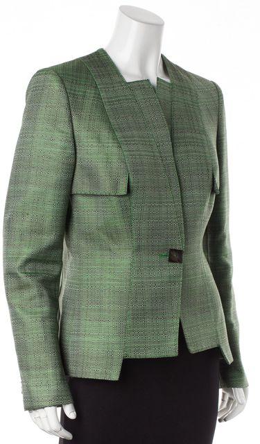 CAROLINA HERRERA Green Basic Jacket