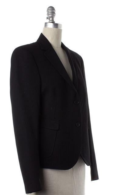 CALVIN KLEIN COLLECTION Black Two Button Blazer