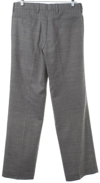 CALVIN KLEIN COLLECTION Gray Wool Dress Pants