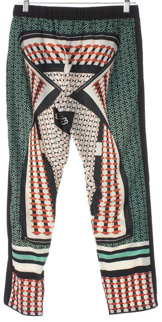 CLOVER CANYON Multi-Color Drawstring Waist Relaxed Fit Trousers Pants