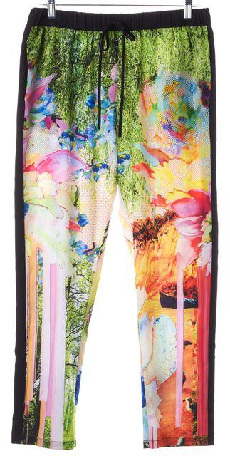 CLOVER CANYON Multi-Color Nature Elastic Waist Drawstring Pants