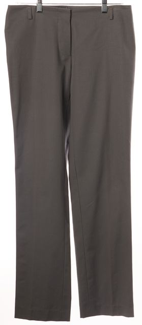 COSTUME NATIONAL Gray 100% Cotton Trouser Dress Pants