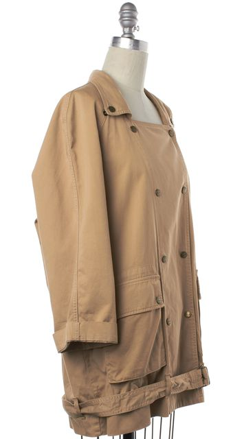 CURRENT ELLIOTT Brown Double Breasted Basic Jacket