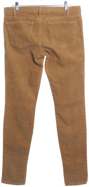 CURRENT ELLIOTT Caramel Brown The Skinny Corduroys Pants