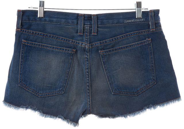 CURRENT ELLIOTT Blue Mini, Short Shorts