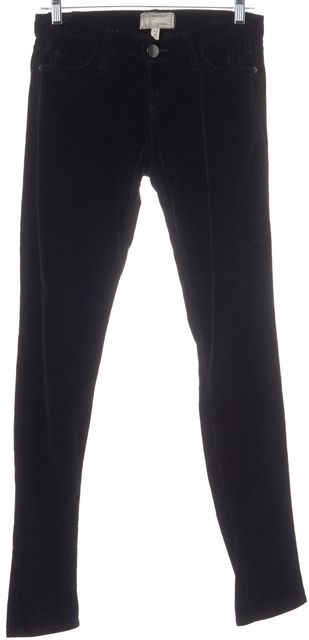 CURRENT ELLIOTT Black Velvet Pants