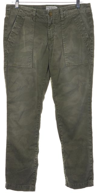 CURRENT ELLIOTT Army Camo Green The Army Buddy Trouser Pants