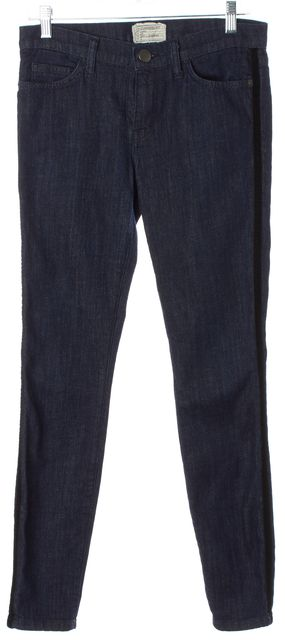 CURRENT ELLIOTT Blue The Ankle Skinny Jeans