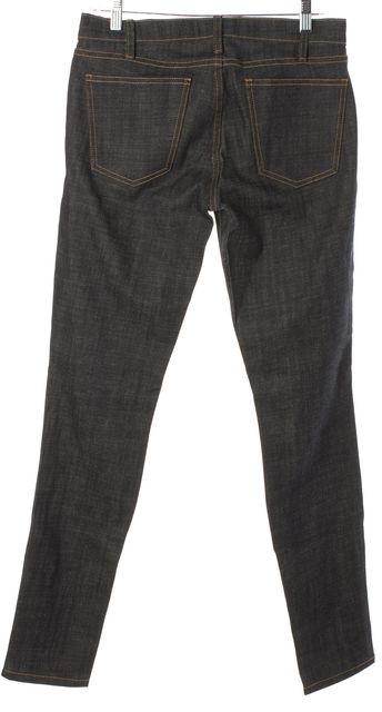 CURRENT ELLIOTT Blue Ankle Skinny Jeans