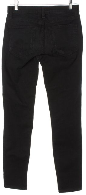 CURRENT ELLIOTT Black The Ankle Skinny Jeans