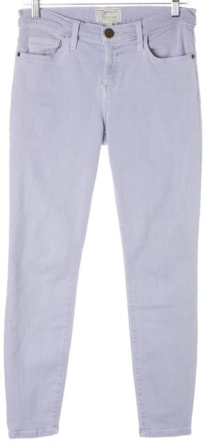 CURRENT ELLIOTT Purple Dusty Iris The Stiletto Skinny Jeans