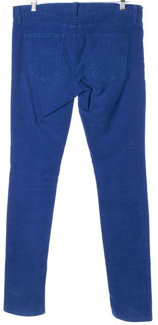 CURRENT ELLIOTT Electric Blue The Skinny Corduroys Pants