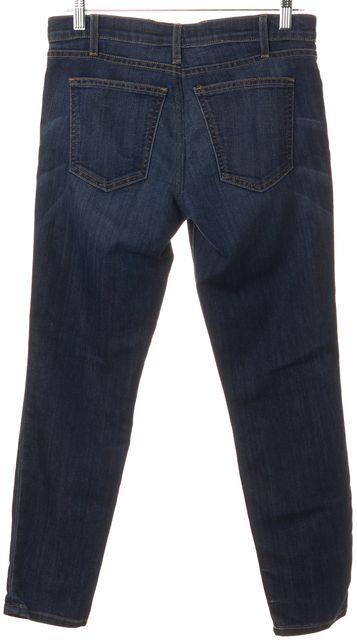 CURRENT ELLIOTT Blue Dark Wash Denim Skinny Jeans