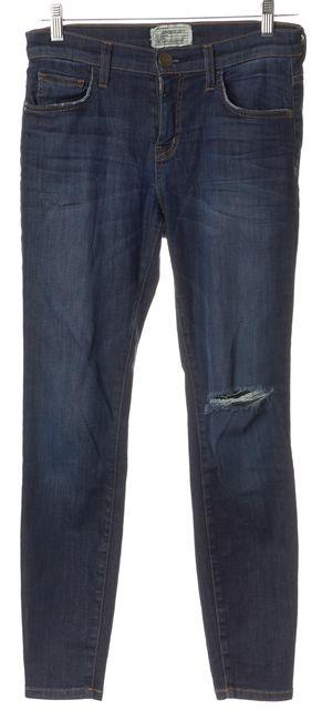 CURRENT ELLIOTT Blue The Stiletto Skinny Jeans