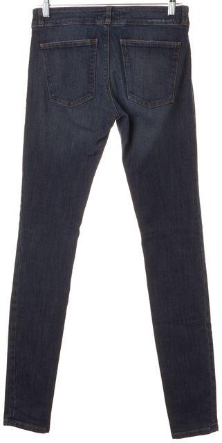 CURRENT ELLIOTT Blue Grit Cotton Denim The Legging Jeans