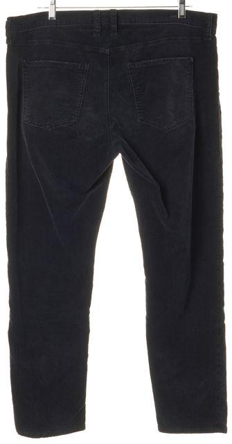CURRENT ELLIOTT The Flng Washed Black Cropped Corduroys Pants
