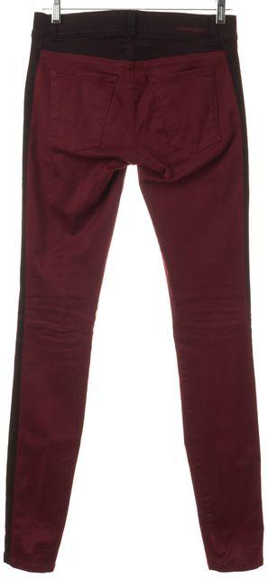 CURRENT ELLIOTT Red Crimson The Rider Leggings Pants
