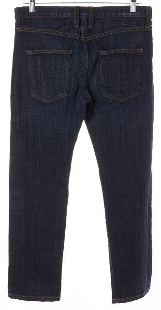 CURRENT ELLIOTT Blue 5 Pocket Mid-Rise Straight Leg Jeans