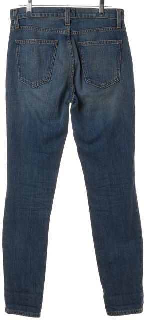 CURRENT ELLIOTT Blue The Mamacita Tidal Wave Destroy Relaxed Fit Jeans