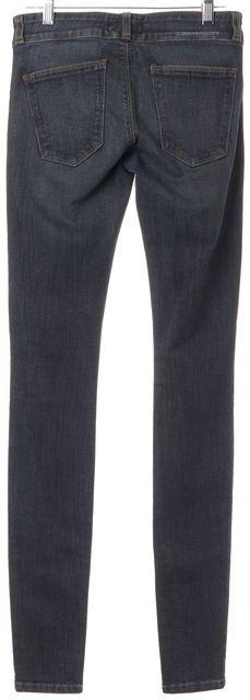 CURRENT ELLIOTT Grit Blue Stretch Cotton Low Rise Legging Jeans
