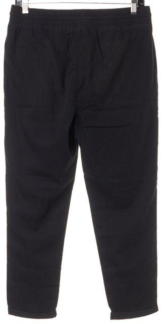 CURRENT ELLIOTT Black Montrose The Drawstring Lounge Trousers Pants