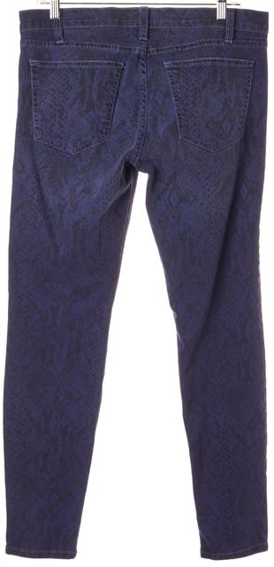 CURRENT ELLIOTT Blue Ribbon Stretch Cotton Ankle Skinny Jeans