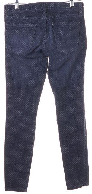 CURRENT ELLIOTT Lake Blue Polka Dot Stiletto Skinny Jeans