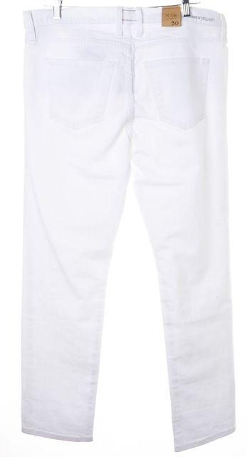 CURRENT ELLIOTT Sugar White The Fling Skinny Jeans