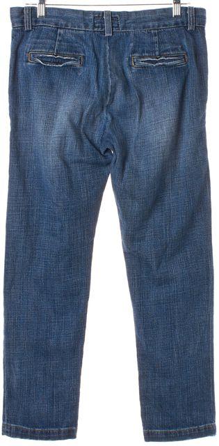 CURRENT ELLIOTT Blue The Captain Trouser Relaxed Fit Jeans