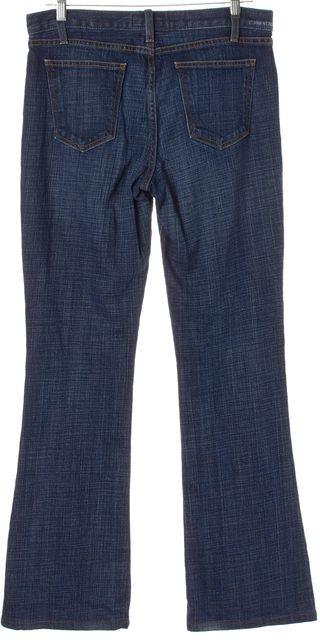 CURRENT ELLIOTT Blue Medium Wash Denim Flare Leg Jeans