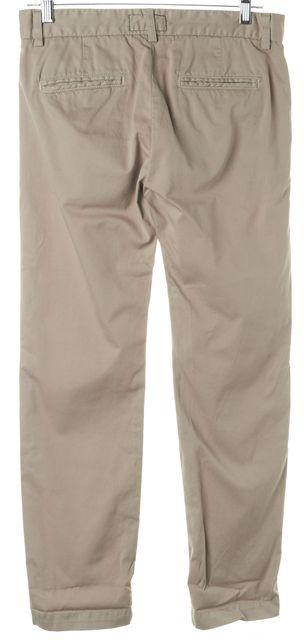 CURRENT ELLIOTT Beige Captain Trousers Pants