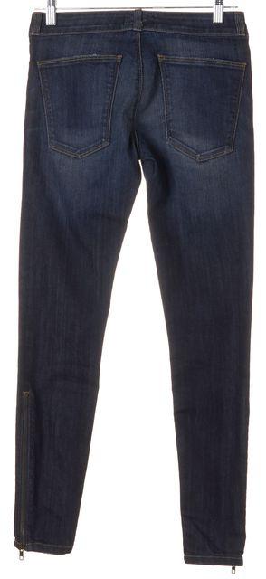 CURRENT ELLIOTT Blue Bird Cropped Legging Skinny Jeans