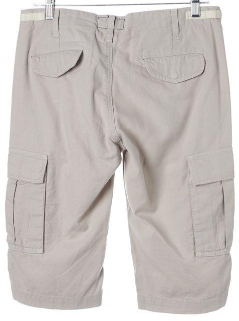 CURRENT ELLIOTT Gray Officer Cargo Bermuda Walking Shorts
