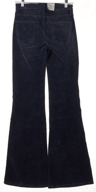 CURRENT ELLIOTT Blue The Lady Crush Corduroys Pants